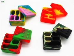 Contenedor Silicona Lego 5Pt.
