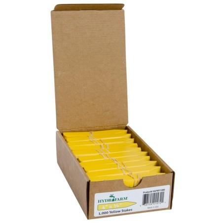 Etiquetas Estaca Amarillas - Hydrofarm