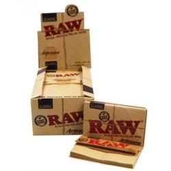 Papelillos 1 1/4 Artesano + filtro - Raw