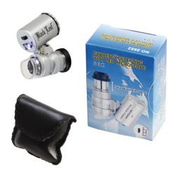 Microscopio LED 60x - Foco ajustable (COD.20113)
