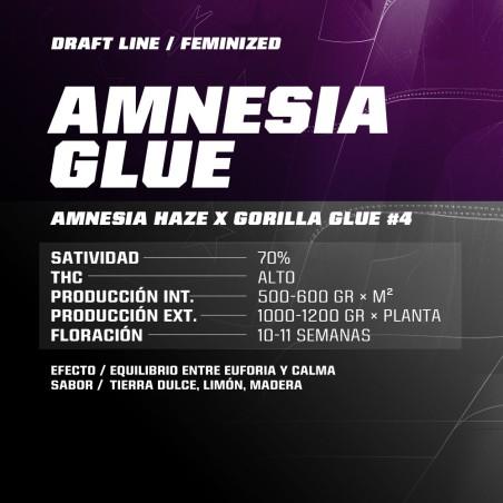 Amnesia Glue x12 Fem Bigger Stronger Faster.