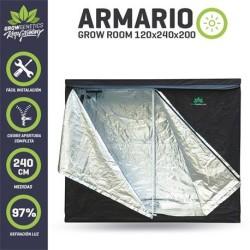 Armario Grow Room 240x120x200 - Grow Genetics