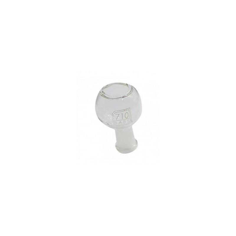 Quemador Domo White Logo 14mm - 710 Labs