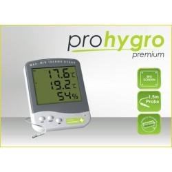 Termohigrómetro Premium con Sonda - Garden Highpro