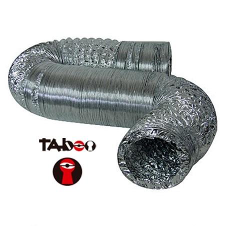Ducto Aluminio Flexible 102mm x2,5mt