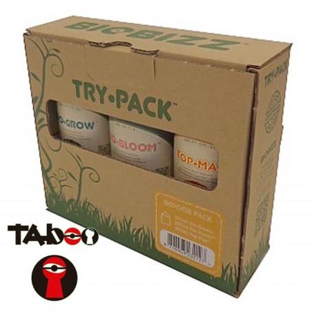 Trypack Indoor Fertilizantes Biobizz
